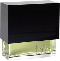 Gucci Envy for men, fragrance bottle