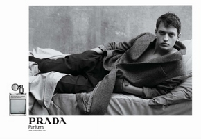 Prada Amber Pour Homme fragrance advert