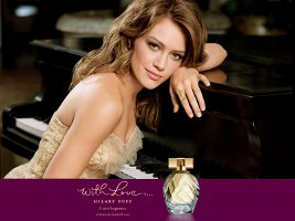 With Love perfume by Hilary Duff