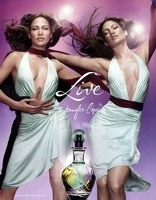 Jennifer Lopez Live advert