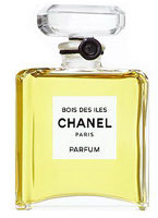 Chanel Bois des Iles perfume, original flacon