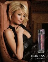 Paris Hilton Heiress advert