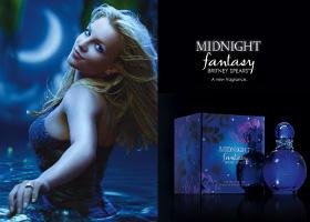 Britney Spears Midnight Fantasy perfume advert