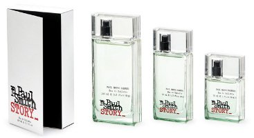 Paul Smith Story, fragrance packaging
