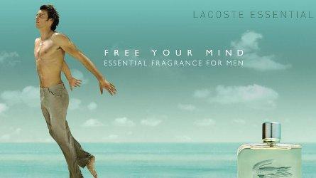 Lacoste Essential advert