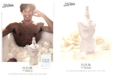 Jean Paul Gaultier Fleur du Male advert