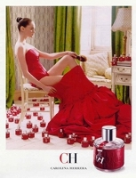 Carolina Herrera CH perfume for women advert