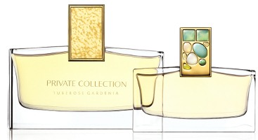 Estee Lauder Private Collection Tuberose Gardenia fragrance bottles