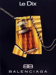 Balenciaga Le Dix parfum advert