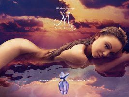 M by Mariah Carey perfume advert