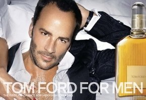 Tom Ford For Men fragrance advert