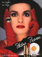 Paloma Picasso Mon Parfum advert