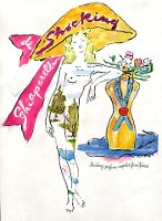 Schiaparelli Shocking vintage advert 1