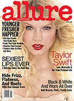 Allure magazine cover, April 2009