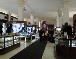 Saks Fifth Avenue beauty department