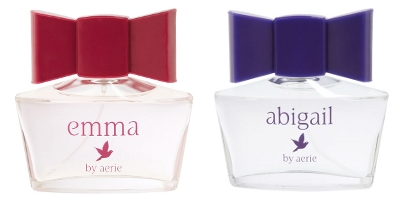 Aerie Emma and Abigail fragrances, by American Eagle