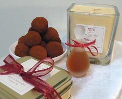 Ayala Moriel Roses et Chocolat gift set