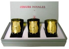 Cire Trudon Odeurs Royales votive set