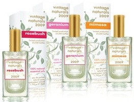 Demeter Vintage Naturals perfume collection 2009