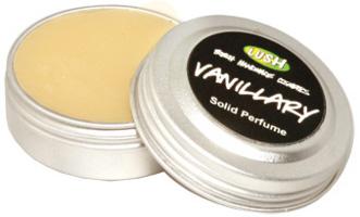 Lush Vanillary solid perfume