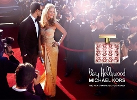 Very Hollywood Michael Kors fragrance advert