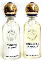 Parfums de Nicolai Violette in Love & Week-end A Deauville fragrances
