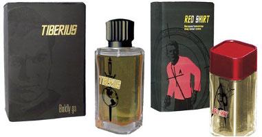 Star Trek Tiberius and Red Shirt fragrances for men