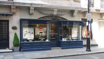 Czech & Speake store exterior, London