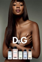 Model Naomi Campbell for D&G L'Imperatrice 3 perfume