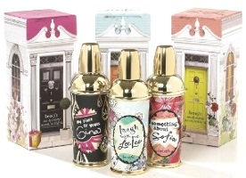Benefit Crescent row trio of perfumes