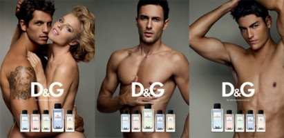 D & G The Fragrance Anthology adverts