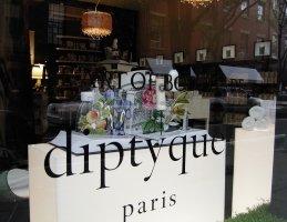 Diptyque store exterior, New York City