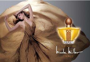 Nicole Miller Frenzy perfume advert
