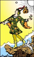 Tarot card: The Fool