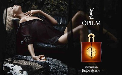 Yves Saint Laurent Opium advert