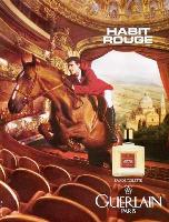 Guerlain Habit Rouge fragrance advert