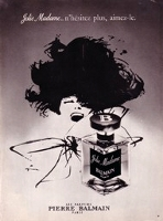 Balmain Jolie Madame perfume advert