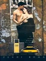 Fendi Roma perfume advert