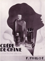 Millot Crepe de Chine advert