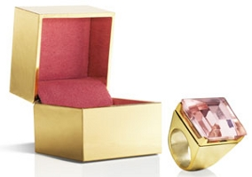 Michael Kors Very Hollywood solid perfume ring