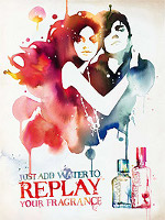 Replay Your Fragrance! advert