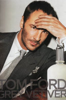Tom Ford Grey Vetiver fragrance advert