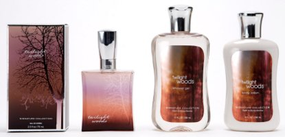Bath & Body Works Twilight Woods perfume collection