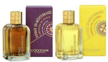 L'Occitane Voyage en Méditerranée Labdanum and Mimosa perfumes