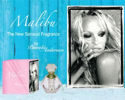 Pamela Anderson Malibu fragrance