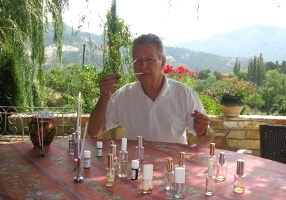 Perfumer Raymond Chaillan