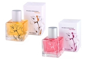 Infusion Organique Indochine and Acai Rain perfumes