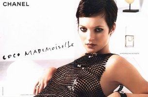 Kate Moss for Chanel Coco Mademoiselle perfume