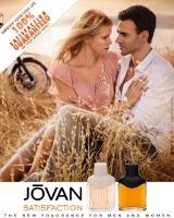 Jovan Satisfaction fragrance advert