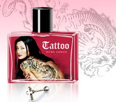 Michel Germain Tattoo woman perfume